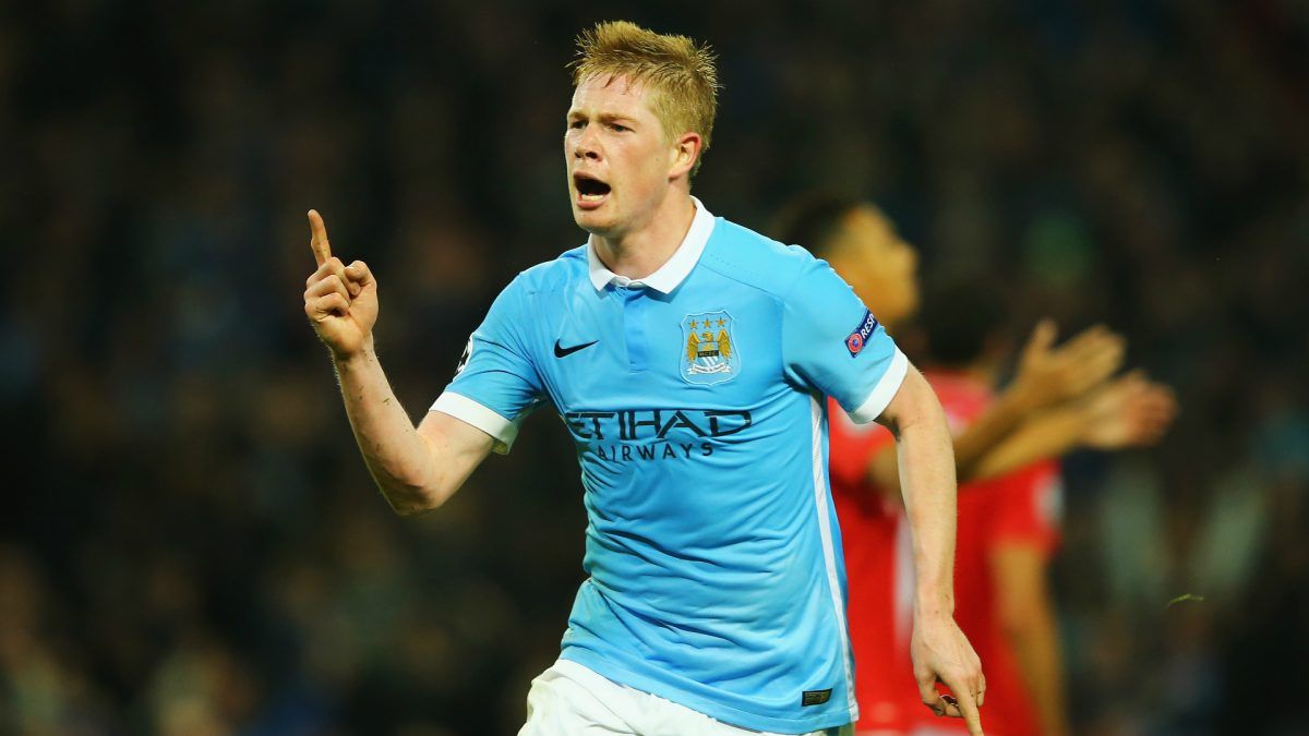 Man City : Guardiola encense De Bruyne