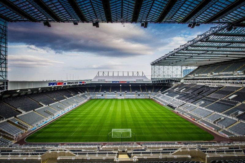 St James Park Stadium