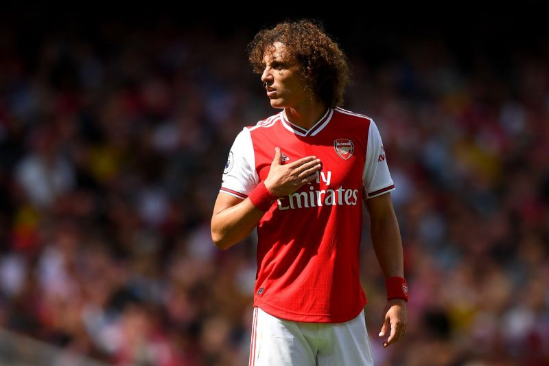 David Luiz le défenseur d'Arsenal