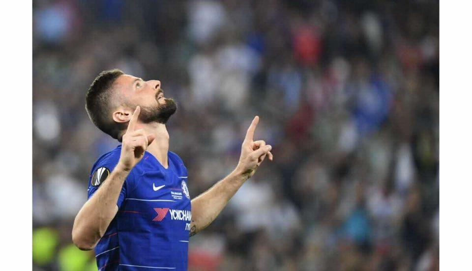 Olivier Giroud se sent bien à Chelsea