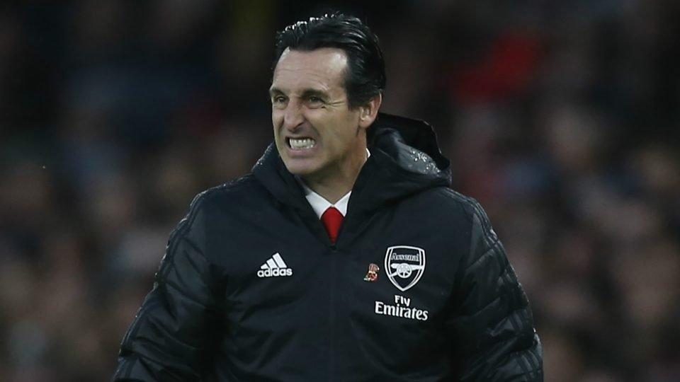 Unai Emery, manager d'Arsenal