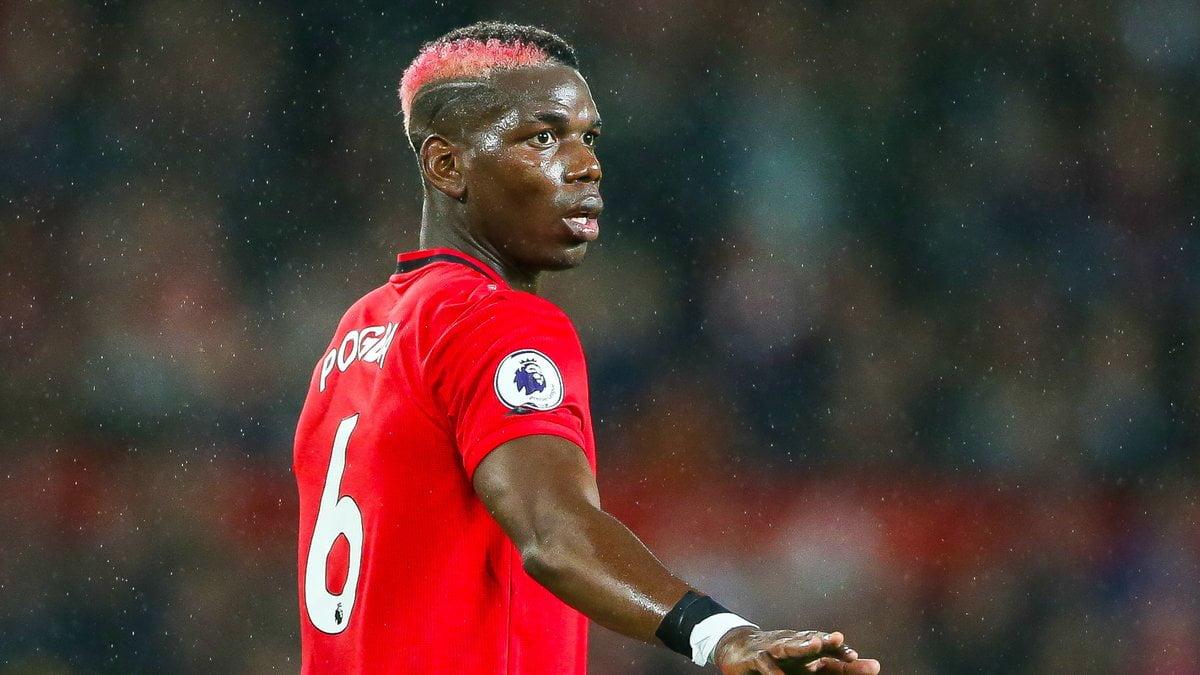 Paul Pogba évolue toujours à Manchester United