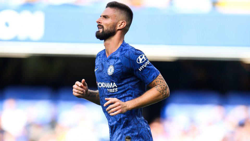 Olivier Giroud, l'attaquant de Chelsea