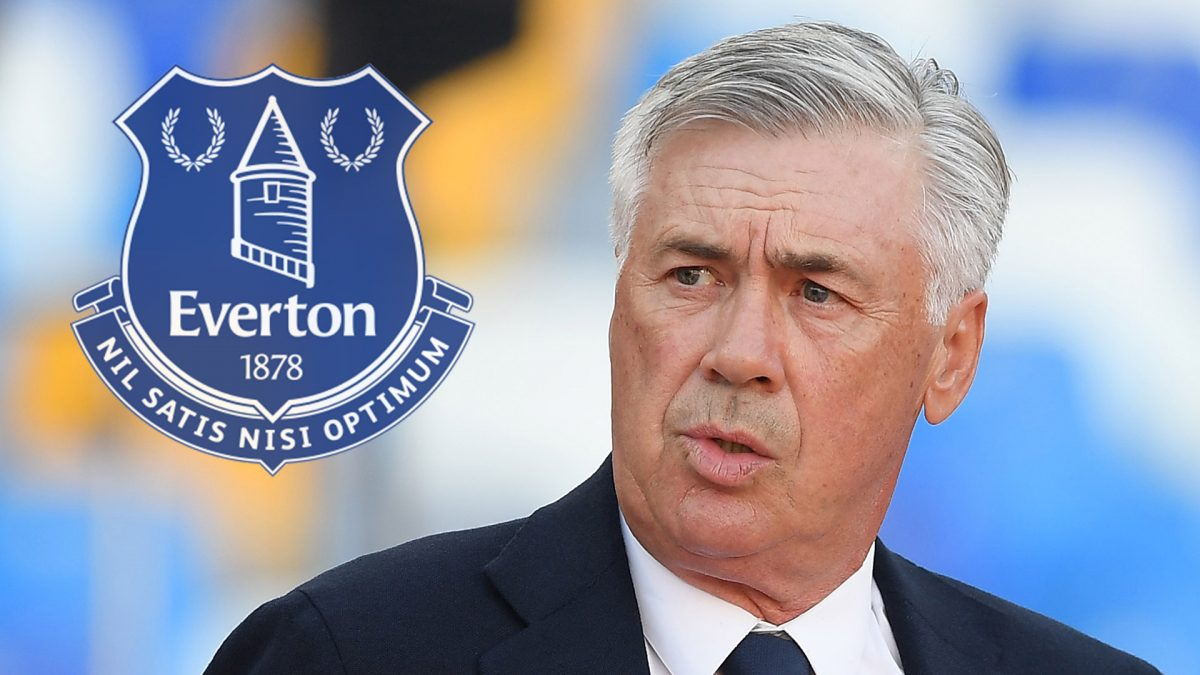 Carlo Ancelotti, ambitieux manager d'Everton
