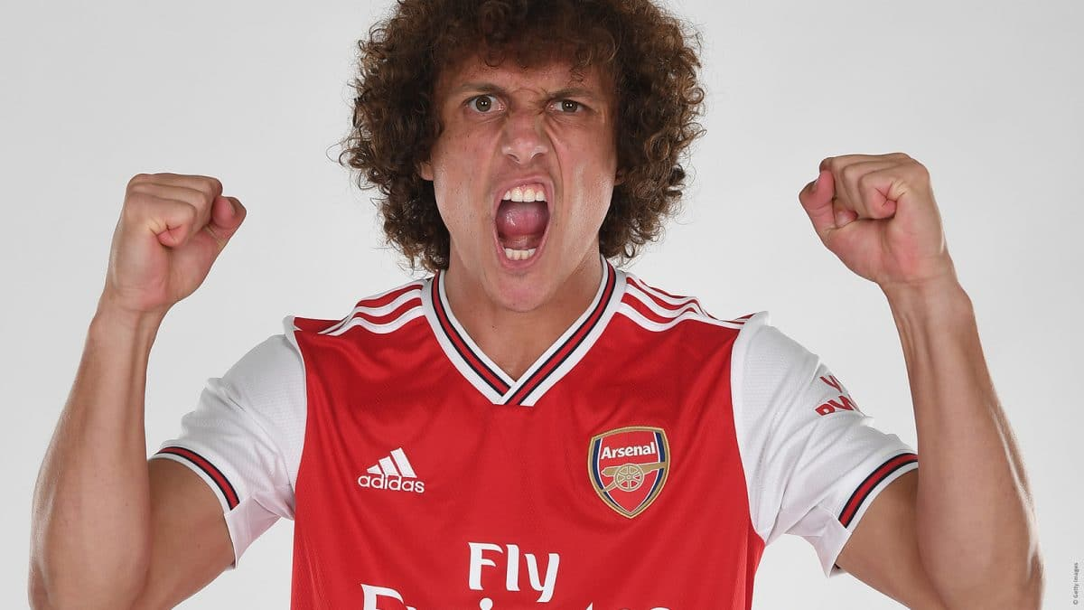 David Luiz, défenseur d'Arsenal