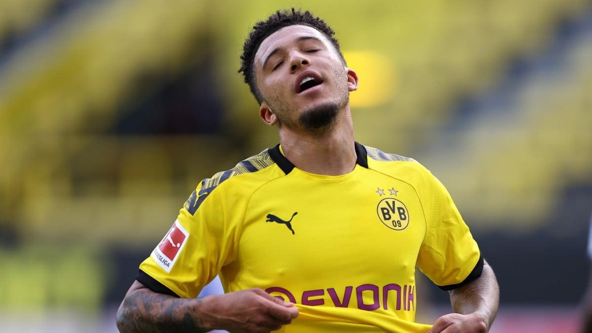 Jadon Sancho, l'attaquant du Borussia Dortmund