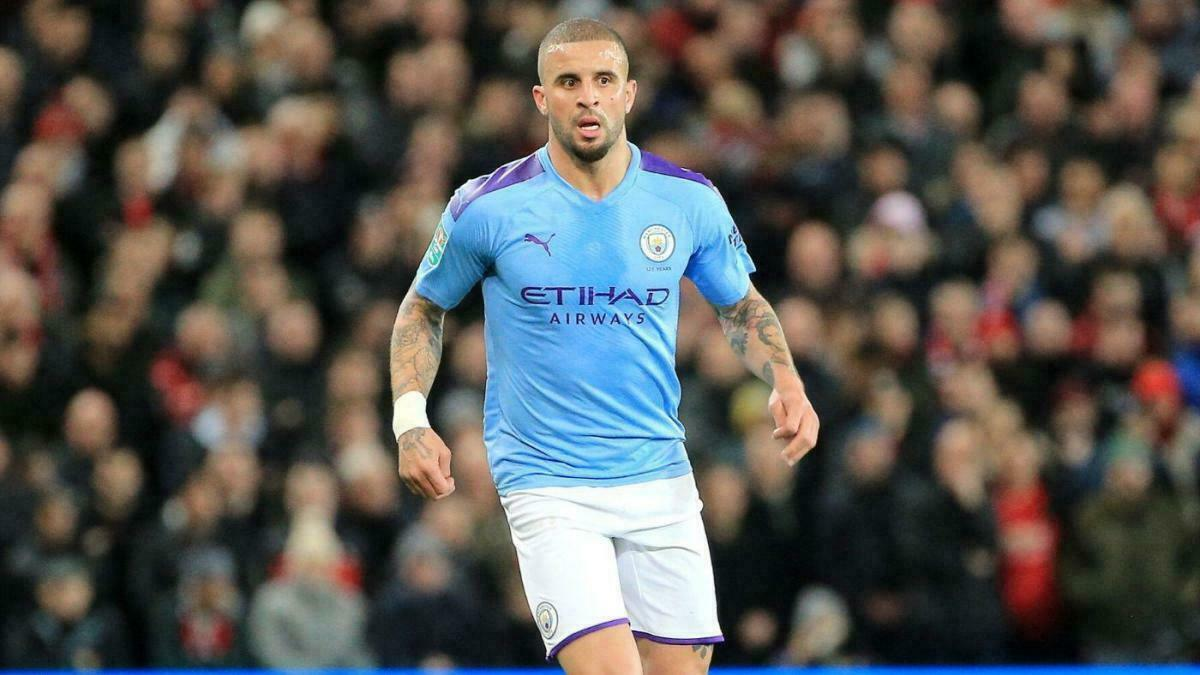 Kyle Walker, défenseur de Manchester City