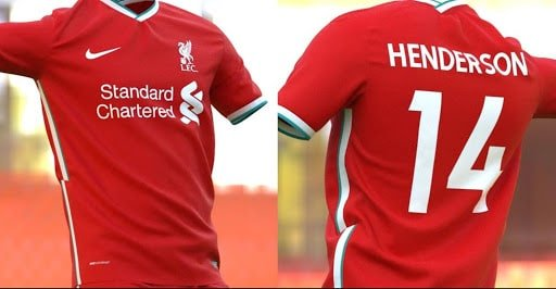 Liverpool : Le nouveau maillot nike