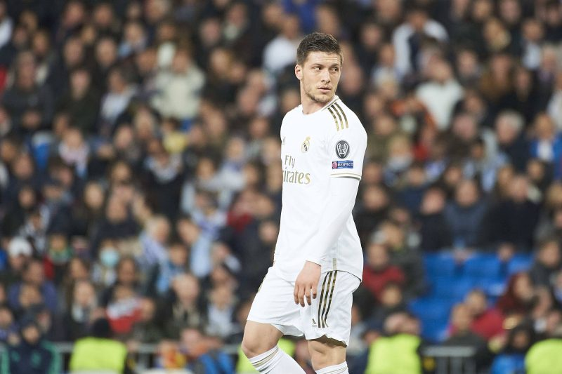 Luka Jovic, attaquant du Real Madrid