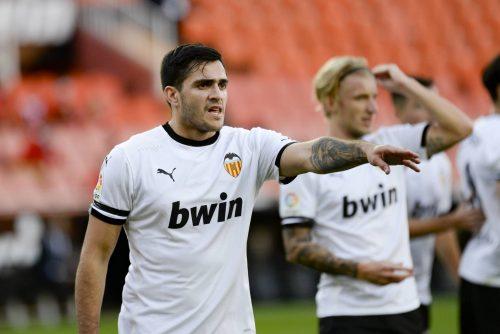 Maxi Gomez, attaquant du Valencia CF