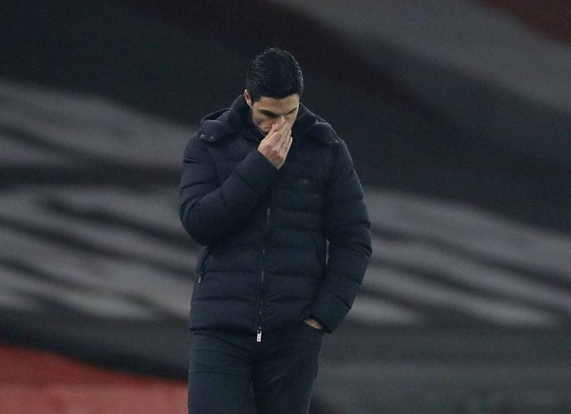 Mikel Arteta manager d'Arsenal