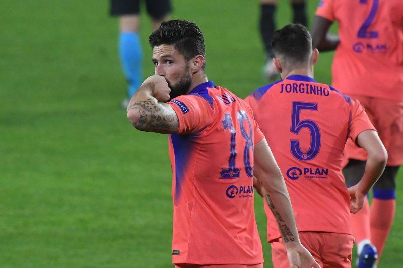 Olivier Giroud buteur face à Séville