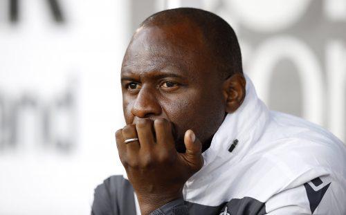 Patrick Vieira, ex-entraineur de Nice
