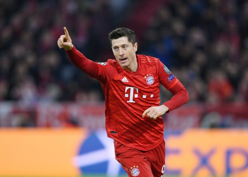 Robert Lewandowski, attaquant du Bayern Munich