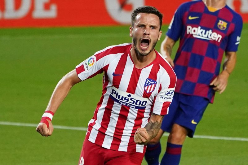 Saul Niguez, milieu de terrain de l'Atletico Madrid