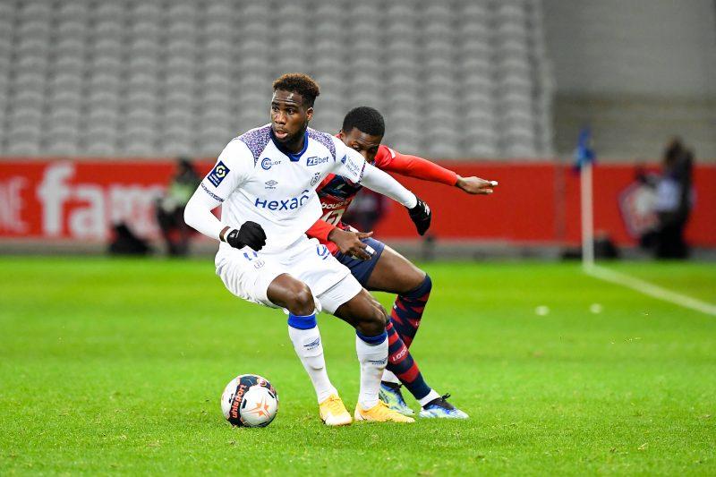 Boulaye Dia, l'attaquant du Stade de Reims