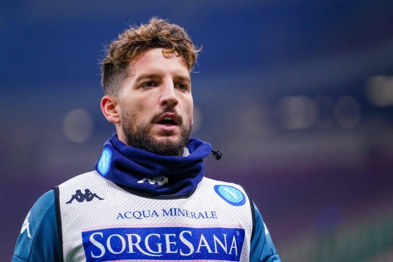 Dries Mertens, attaquant du Napoli