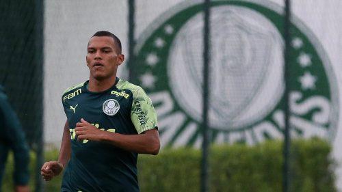 Gabriel Veron, attaquant de Palmeiras