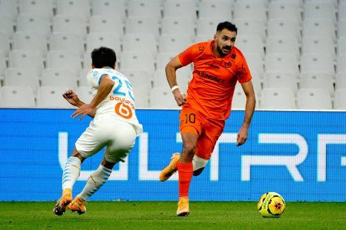 Gaetan Laborde, attaquant de Montpellier
