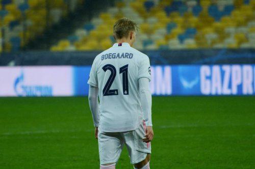 Martin Odegaard, milieu de terrain du Real Madrid