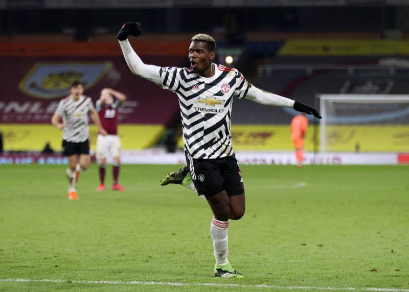Paul Pogba, buteur pour Manchester United