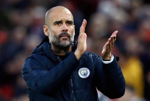 Pep Guardiola, manager de Man City