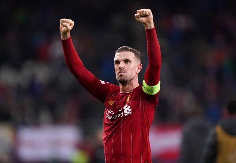 Jordan Henderson, capitaine de Liverpool