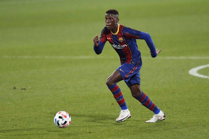Ilaix Moriba, FC Barcelone