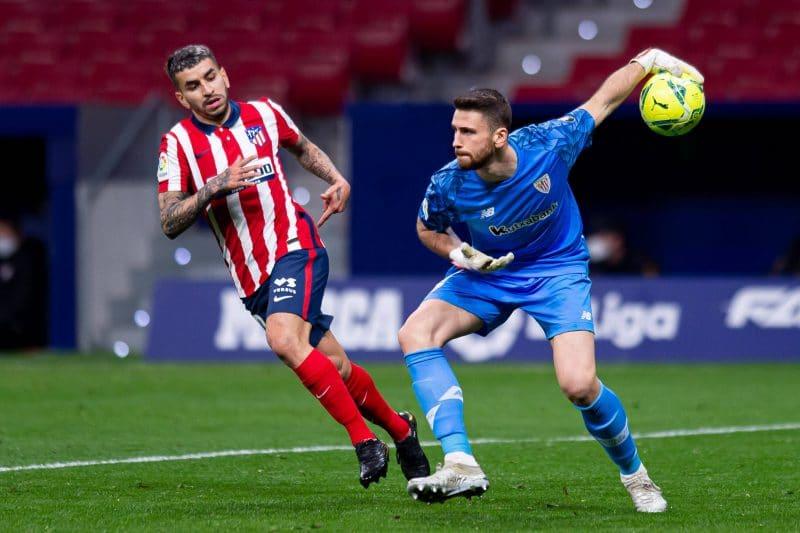 Unai Simon, gardien de l'Athletic Bilbao
