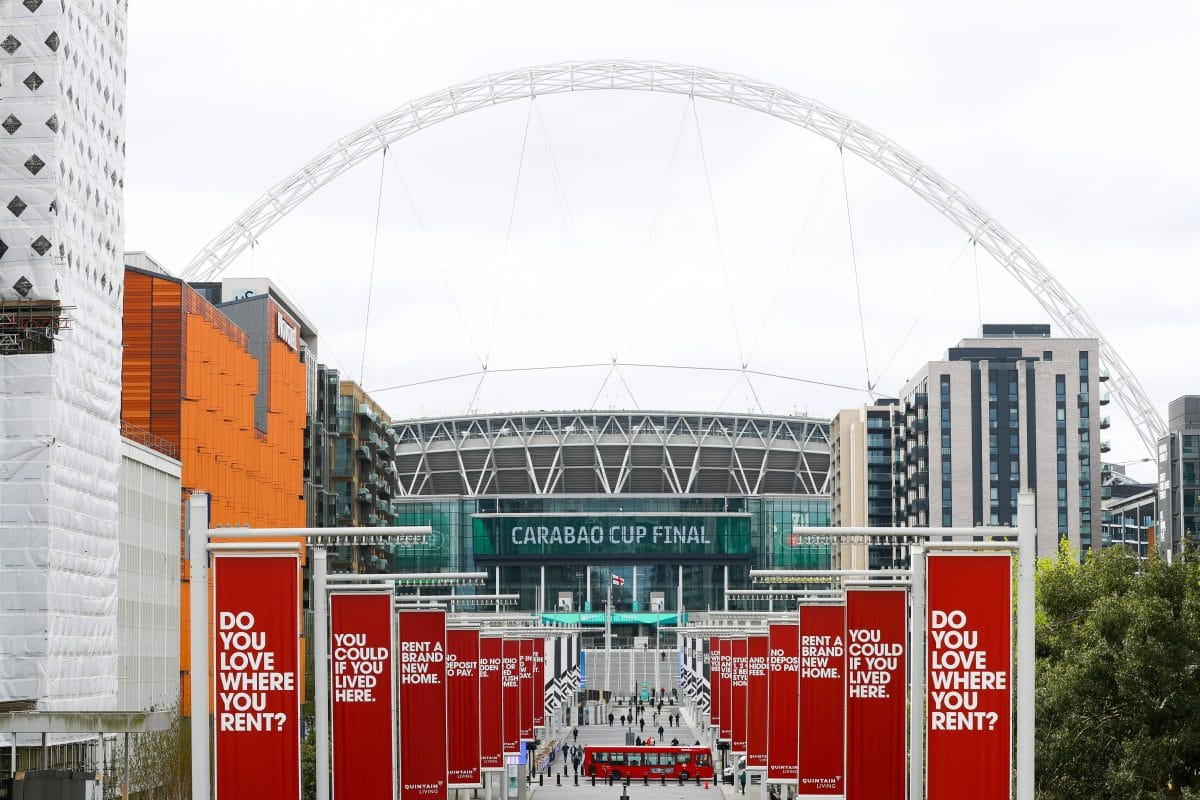 Carabao Cup finale 2021 à Wembley