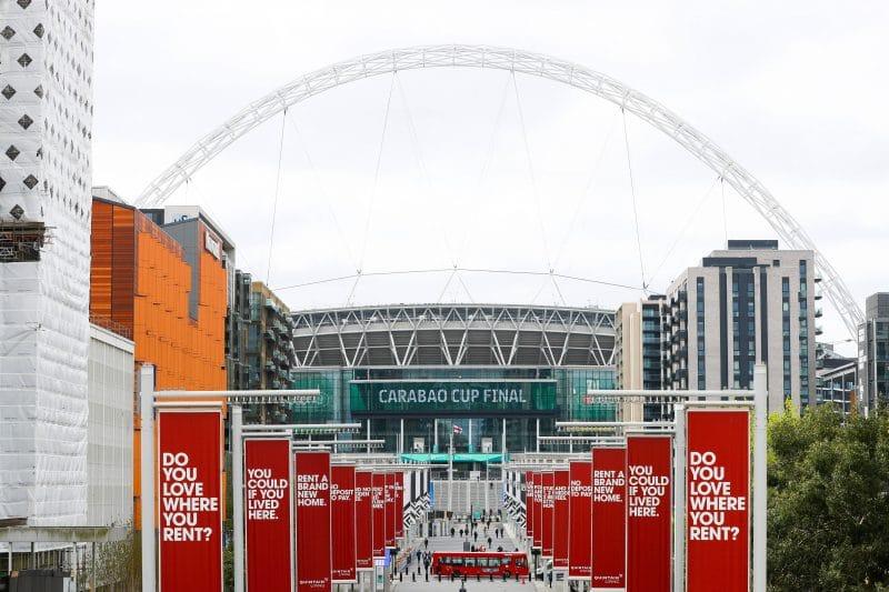 League Cup final 2021 à Wembley