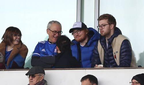Ed Sheeran, Ipswich Town