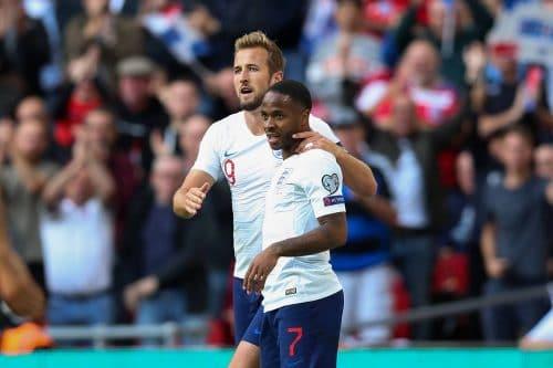 Raheem Sterling et Harry Kane complices sous le maillot anglais