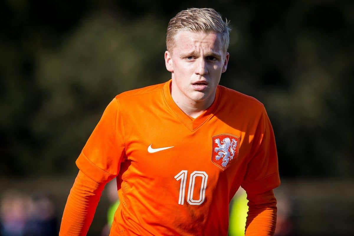 Donny Van de Beek forfait pour l'Euro 2020