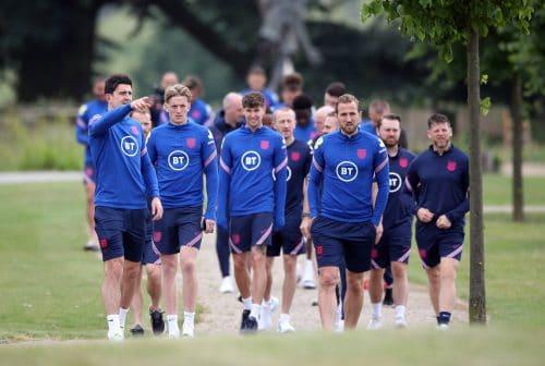 Angleterre à l'Euro 2020