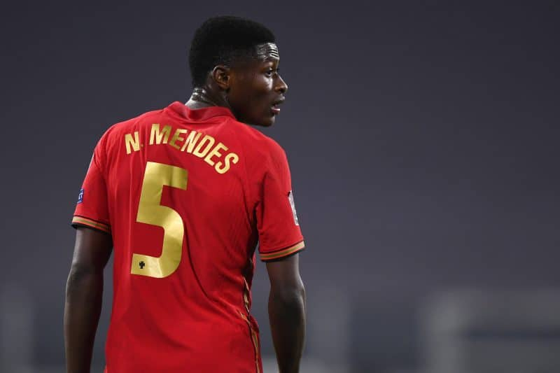 Nuno Mendes vers Manchester City en Premier League