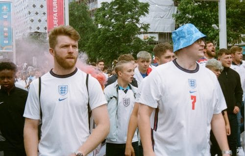 Euro 2020 - Supporters Angleterre