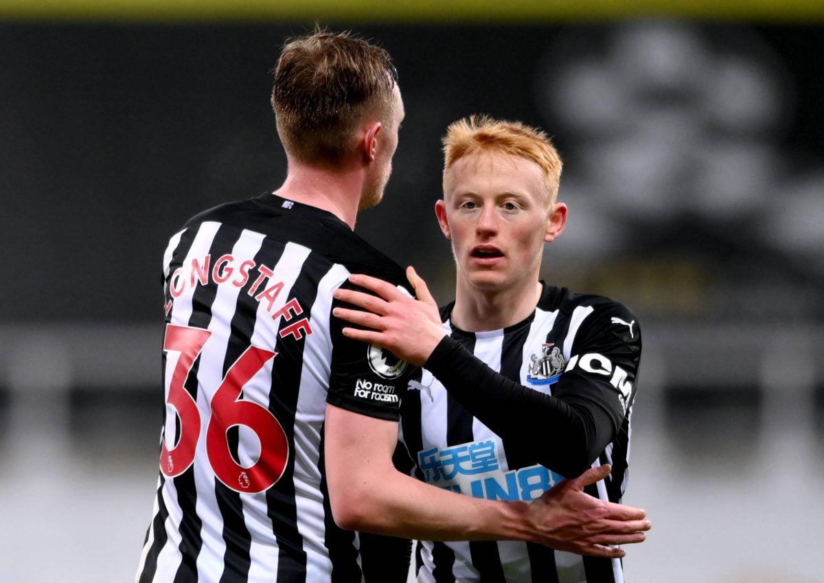 Matty Longstaff Newcastle