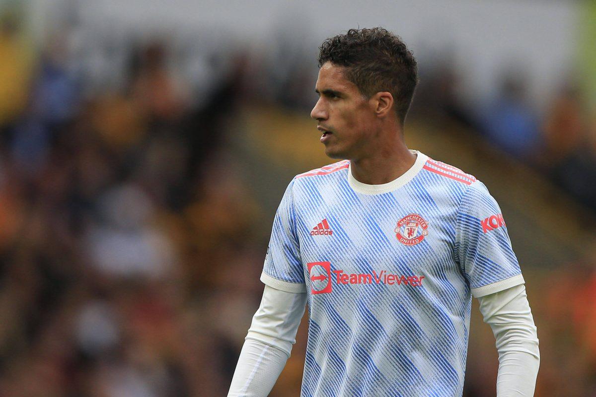 Raphaël Varane premier match avec Manchester United