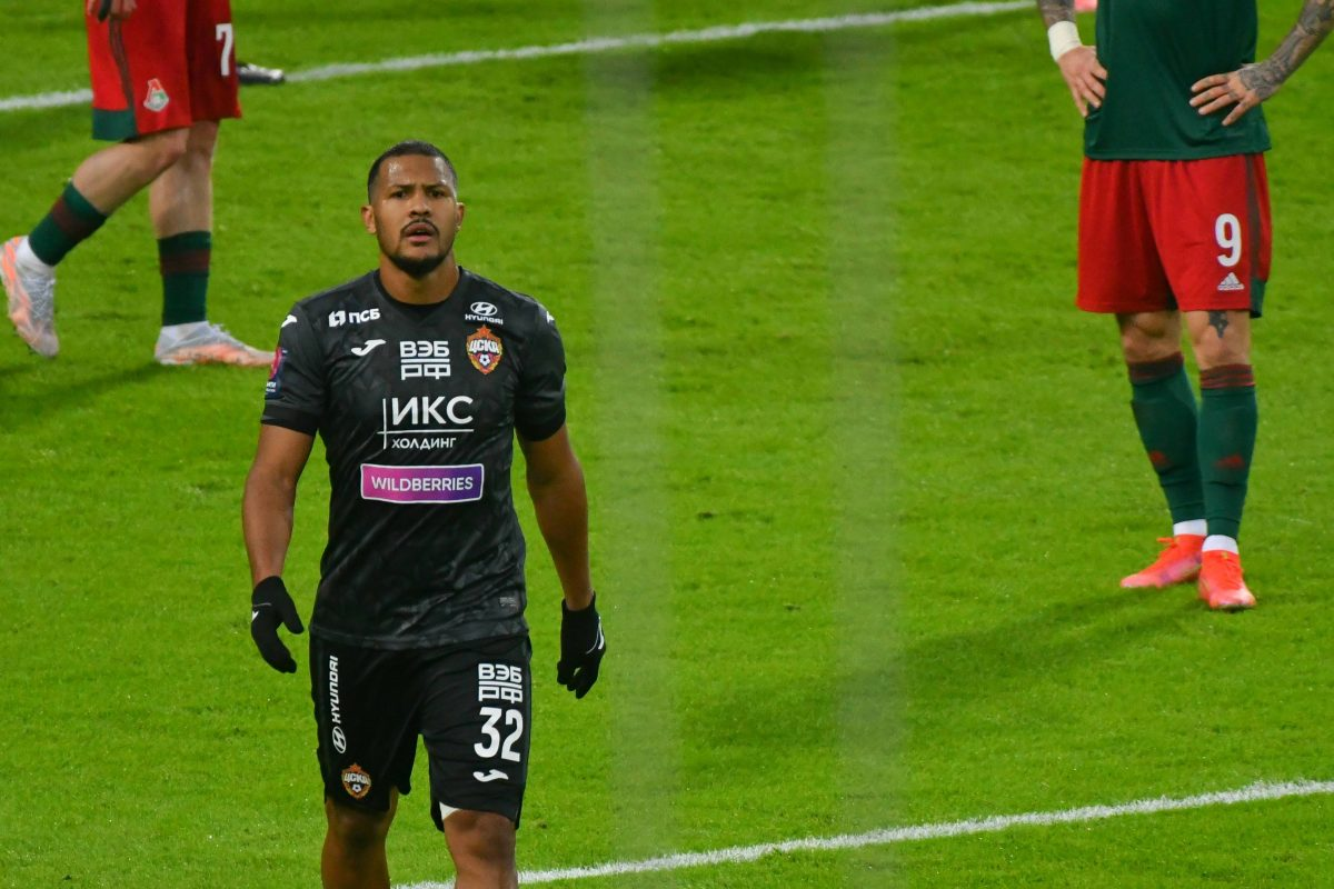 Salomon Rondon vers Everton