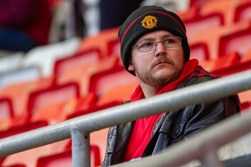 Supporter manchester united