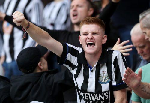 Supporters de Newcastle heureux du rachat